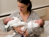 Twin Birth - Photo: Morag Hastings, appleblossom families.com