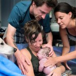 Home birth with dog