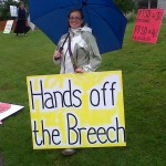 hands off the breech